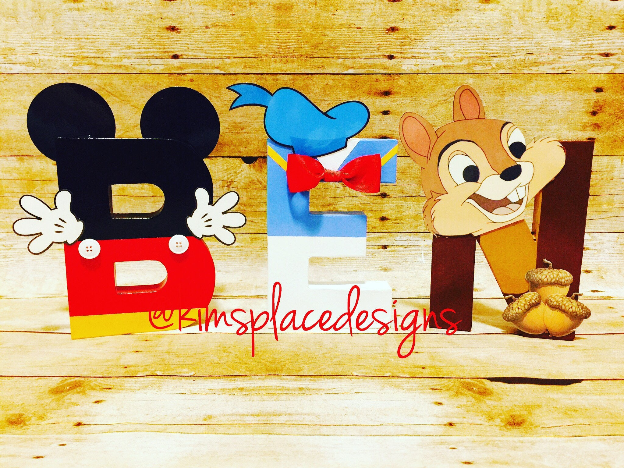 Mickey Mouse Letters Mickey Mouse Party Mickey Mouse