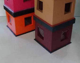 KITTY COTTAGE, insulated outdoor cat house, bed, shelter, condo