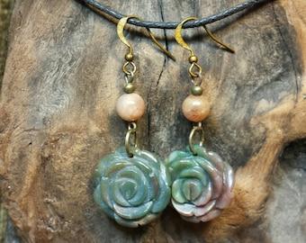 NEW ~ Flowers in the Sun Earrings