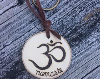 Símbolo de Namaste llavero
