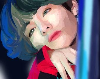 Taehyung Painting