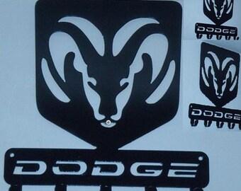 Key Rack Dodge Metal Art