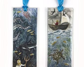 Wonders of the Deep | Storytime Bookmark