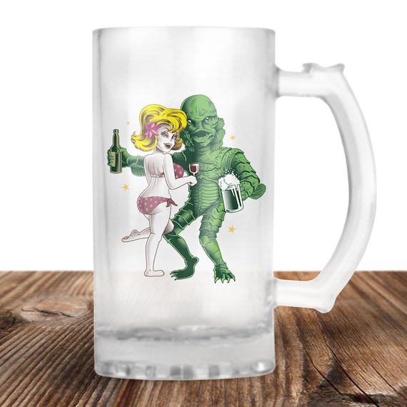 Creature of the Black Lagoon Beer Stein - Cult Horror Film - Creature - Craft Beer Mug -Beer Mug -Beer Lover Gift -Perfect Beer Lover Gift