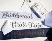 Custom Hens Party Sashes With Pin Included // Bachelorette Party Sash // Birthday Sash // Bride To Be Sash // Future Mrs Sash