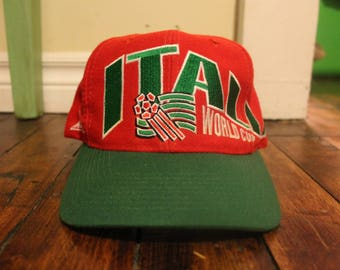 Italy snapback vintage soccer football world cup USA 94 italia