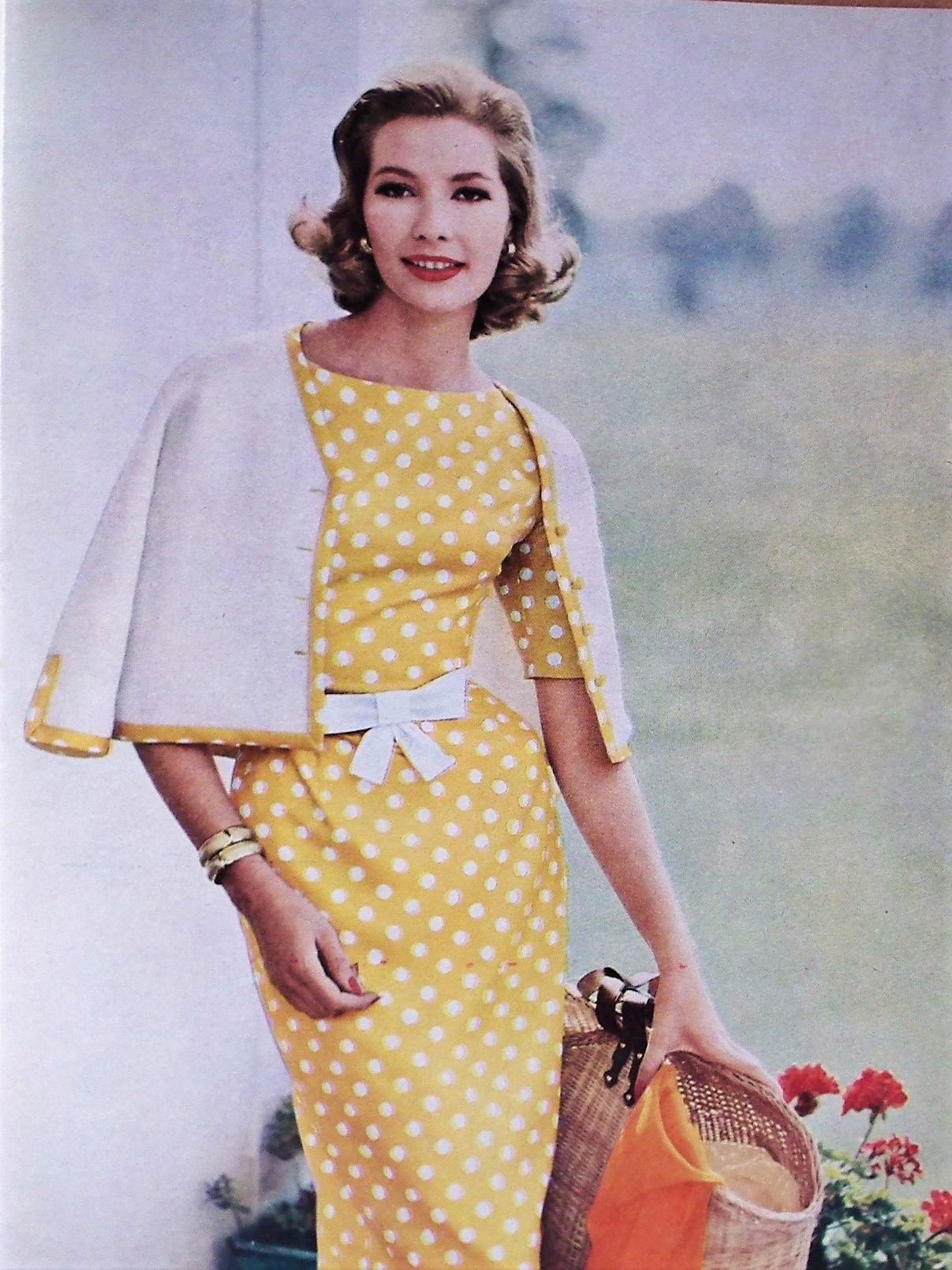 Vogue Knitting Book No 56 1960 Vintage Knitting Patterns 1950s 1960s ...
