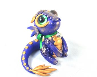 Purple Pet Dragon Sculpture reduced/damaged
