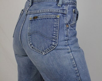 Lee Jeans Size 29 - High Waisted Denim Jeans - Lee Jeans Vintage - Lee Riders - 29 x 27