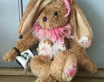 Vintage Bunny Rabbit stuffed toy.