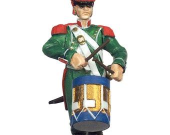 54mm scale Legion Irelandaise Drummer pewter miniature - IWG3P
