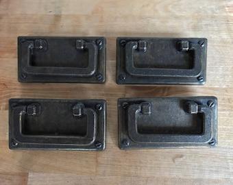 Drawer Pulls Dresser Pulls Handles Metallic Furniture Hardware - Set of 4