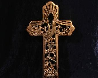 Vintage Christ's Resurrection Cross