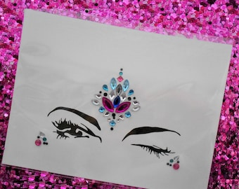 Festival Self-Adhesive Face Jewels BF009