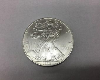 1996 Silver Eagle   Key Date.