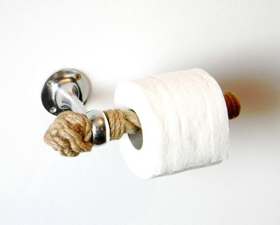 Ordinaire Toilet Paper Rope Holder..Toilet Roll Holder..Jute Rope