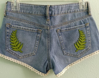 "23 ""Birth of Venus"" low rise shorts"