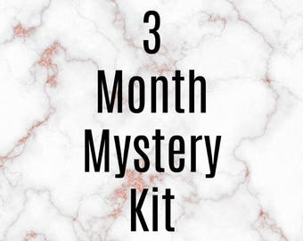 3 Month Mystery Kit Subscription
