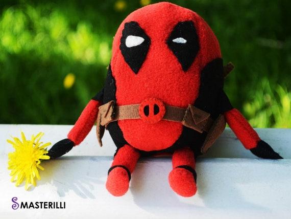 Deadpool toy minion pattern toy sewing pattern superhero
