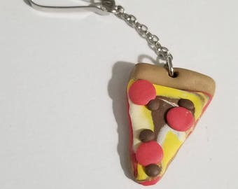Polymer Clay Pizza Slice