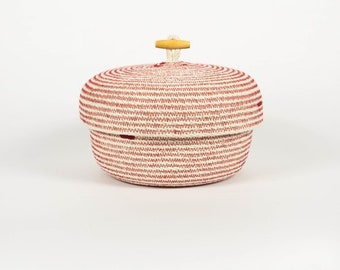 Rope Basket with lid