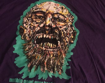 Zombie Face Graphic Tee