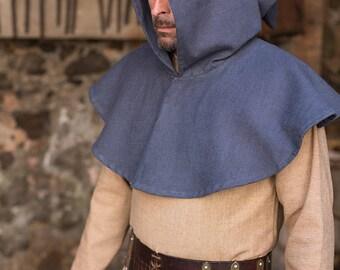 Burgschneider Medieval Larp Viking Cotton Cowl Capellus