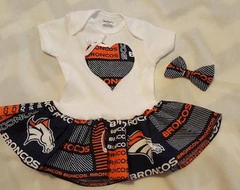 Denver Broncos baby