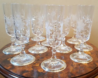 Glass and silver Glasses