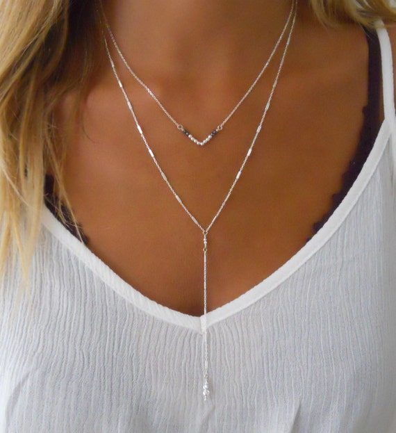 Simple Ring Necklaces