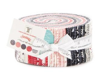 Mama Said Sew Vol II Jelly Roll by Sweetwater for Moda Fabrics - Jelly Roll - Moda Precuts - Black & White Fabric - IN STOCK