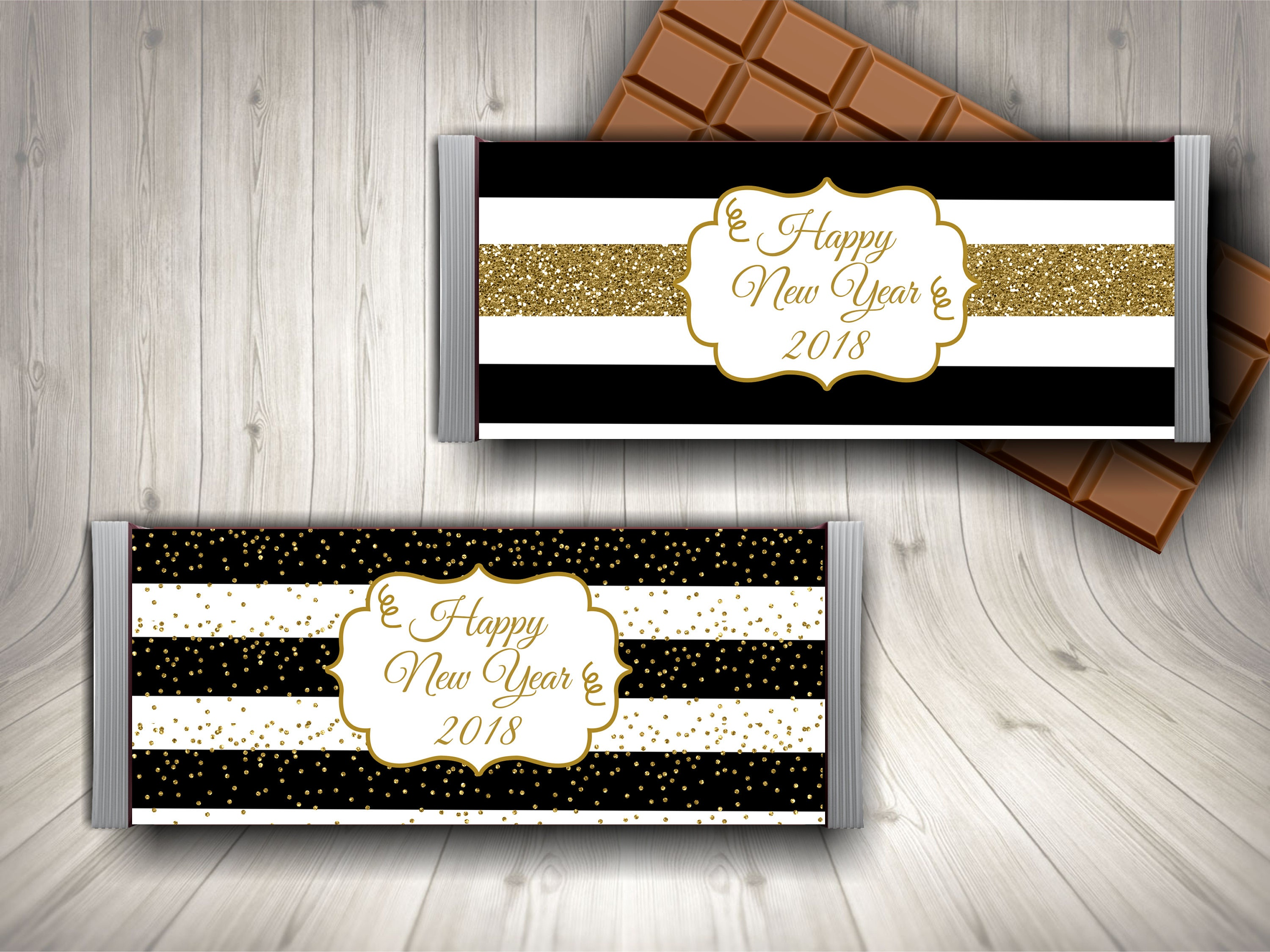 2018 candy bar wrapper 2019 candy new year s eve