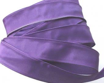 X 2 m - PURPLE - No. 1135 satin ribbon