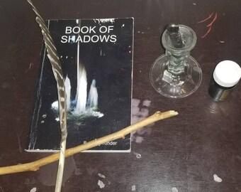 Self reflection spell kit, homemade spell kit, meditation spell kit, spell kits, wiccan spellcasting, witch spell kit, psychic kit