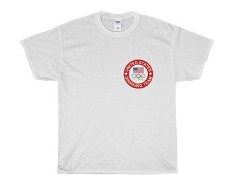 Usa Olympic Drinking Team TShirt White
