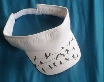 Birds on the Wires visor