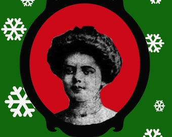 Typhoid Mary Christmas Card version 1
