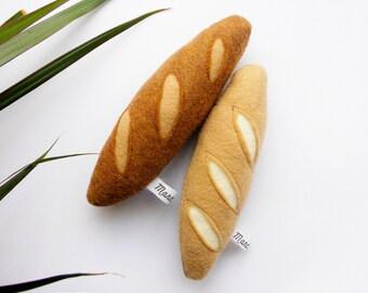 2 pack felt mini baguettes