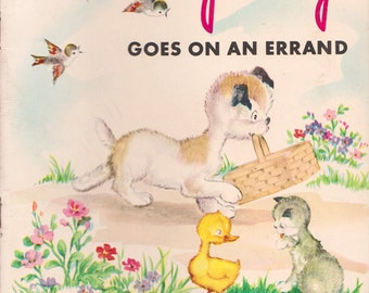 Spotty Goes on an Errand - vintage picture book
