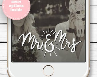 Geofilter Engagement, Snapchat Filter Wedding, Wedding Snapchat Filter, Snapchat Geofilter Hens, Wedding Gift, Mr & Mrs Sign, Custom Filter
