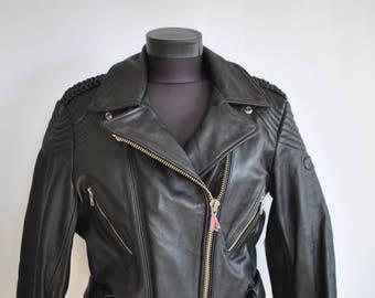 Vintage HEIN GHERICKE women's motorcycle jacket , vintage biker jacket ...............(346)