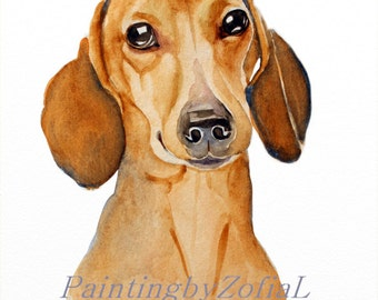 CUSTOM PET PORTRAIT original watercolor painting custom dog portrait pet portrait, portrait commission, portrait from photo, Christmas gifts