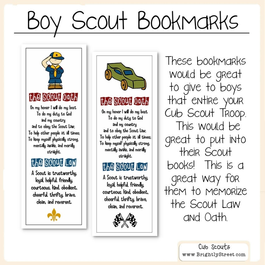 It's just a photo of Mesmerizing Boy Scout Law Printable