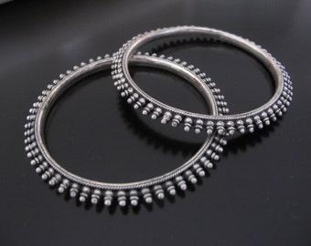 Silver Sterling Bracelet, Tribal Bracelet, Ethnic Bracelet, Tribal silver bracelet, antique silver bracelet, Gypsy Bracelet, gypsy