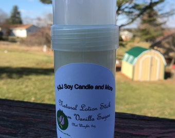 2oz NATURAL LOTION STICK. Assorted Scent To Choose. Made To Order