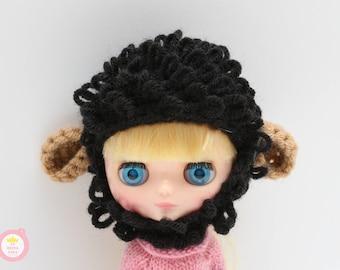 Sheep hat for Middie Blythe Black