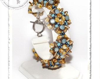 Erna beaded bracelet PDF pattern