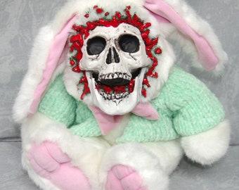 Green Sweater Bunny