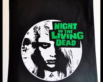 Night of the Living Dead Totebag ***Last unit*** ON SALE - Horror classic zombie movie