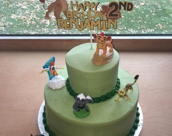 Lion guard cake Etsy